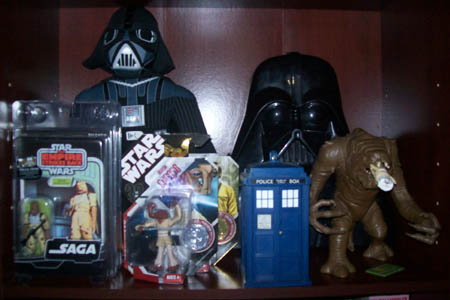 Star Wars and Dad's Toys