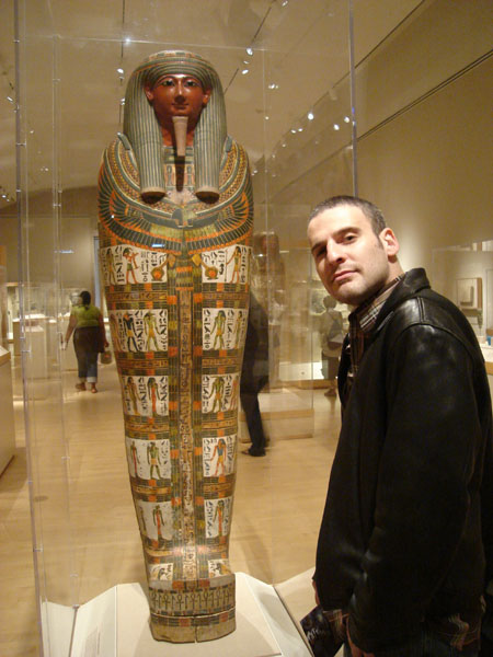 Lawrence Dagstine does Egypt