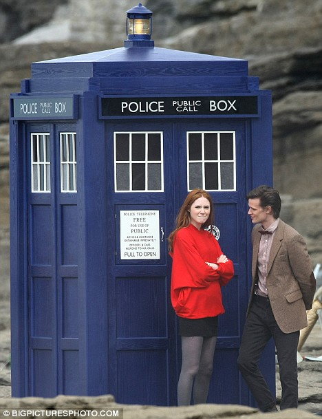 Amy Pond, The 11th Doctor, the New TARDIS